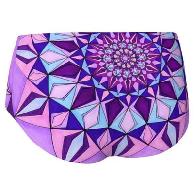 Mini Shorts - Amethyst Mandala