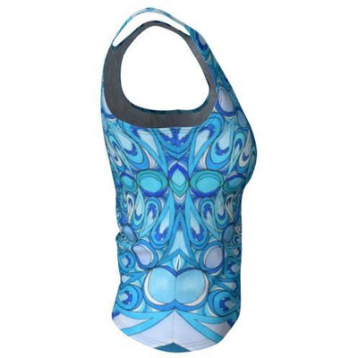 Tank Top, Regular - Water Mandala