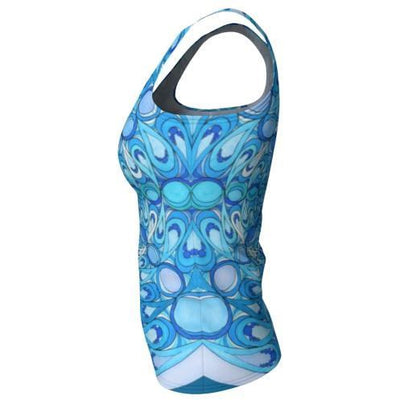 Tank Top - Water Mandala Vibrant