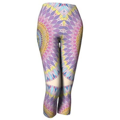 Pastel Capri Leggings - New Sophia Mandala