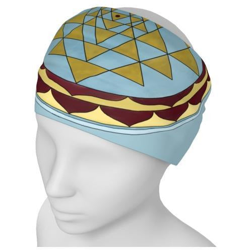Headband - Gold Sri Yantra