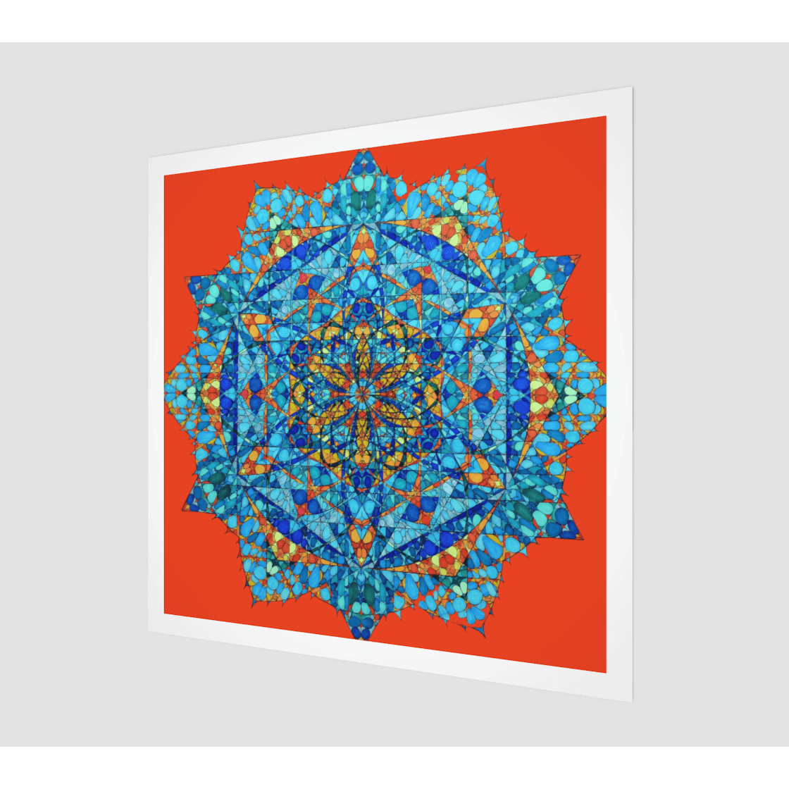 Fine Art Print - The Honey Bee's Merkabah