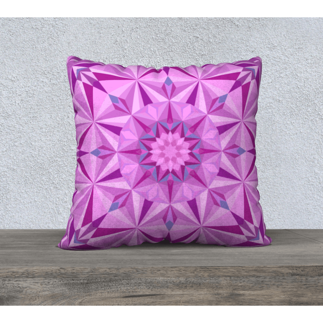 pink diamond pillow case
