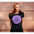 Women's Boho T-Shirt - Amethyst Mandala-Women's Tee (B+C 6004)-High Temple of Light-High Temple of Light