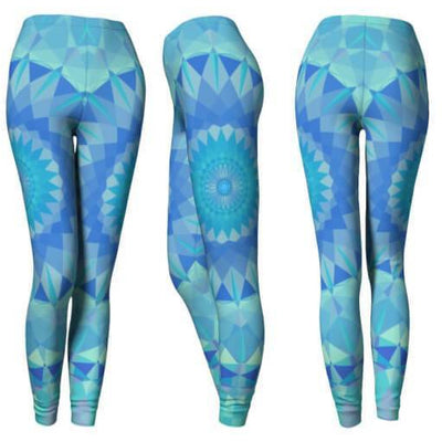 Aqua Blue Leggings
