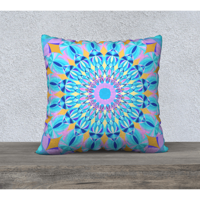 bright pastel pillow case