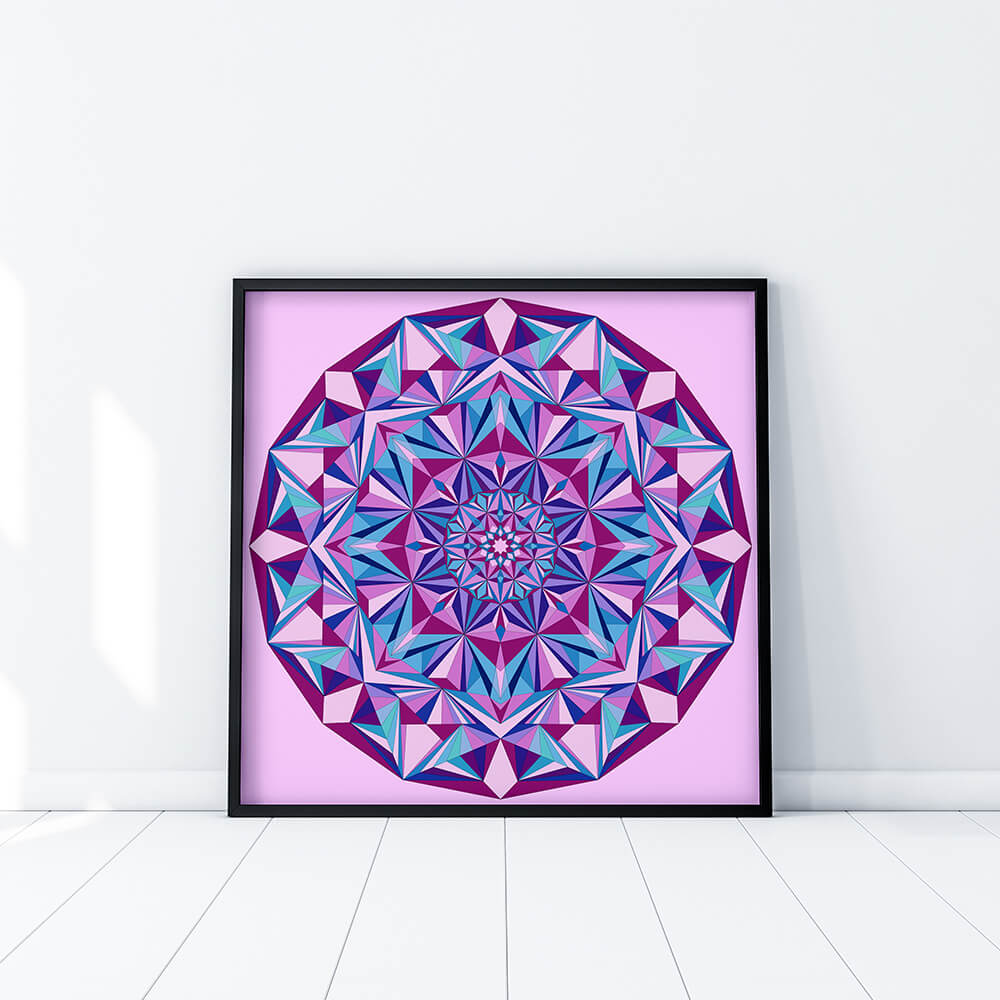 Fine Art Print - Diamond Light