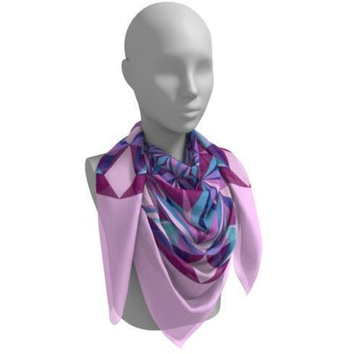 diamond silk scarf