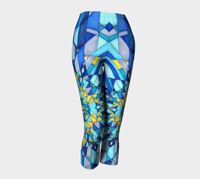 Azure Capri Leggings