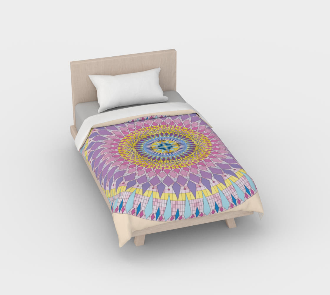 Duvet Cover Light Pastel Sophia Mandala