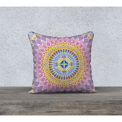 square pastel pillow case