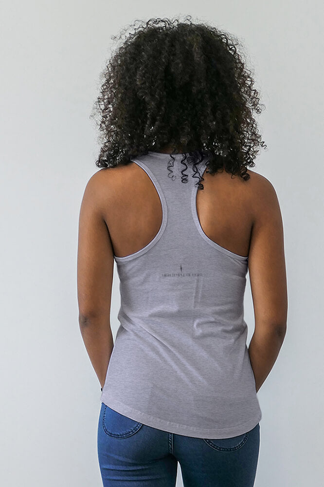 Racerback Tank-Top - Diamond Light