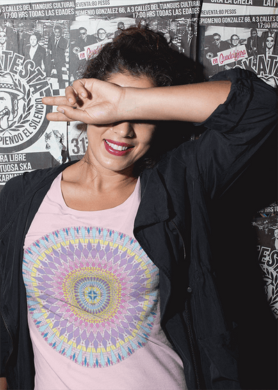Women's Boho T-Shirt - New Sophia Mandala