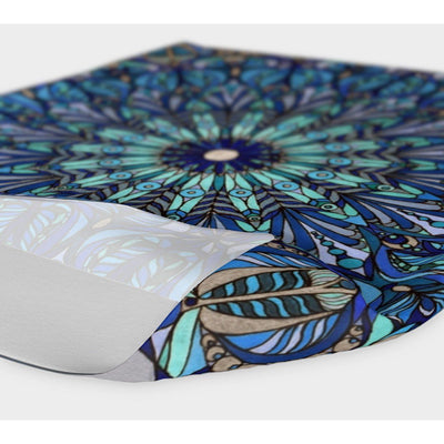 yoga headband with mandala