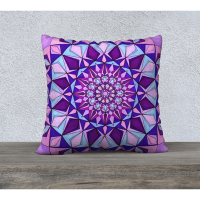 purple pillowcase