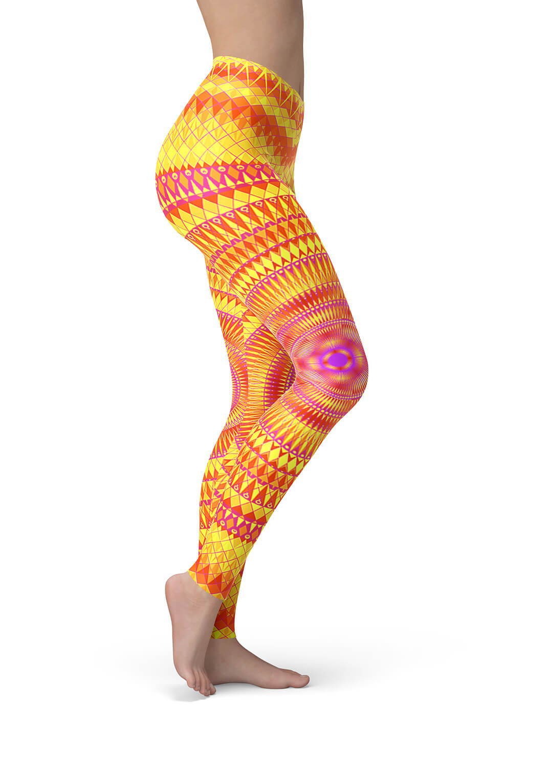 Orange Leggings - Solaris
