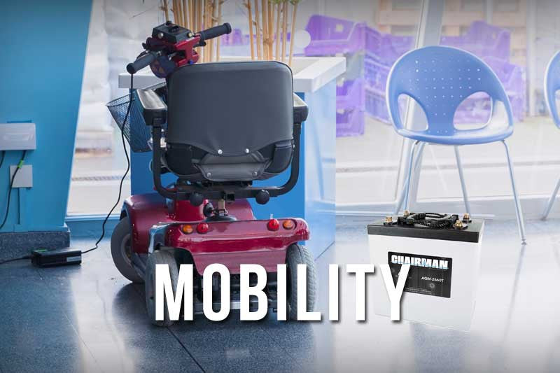 Mobility & Wheelchair Batteries - BDBatteries.com