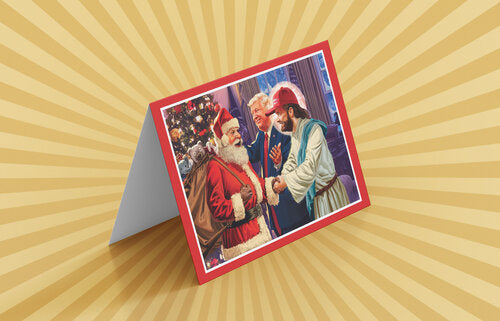 Christmas Card Six-Pack - Trumped Up Cards