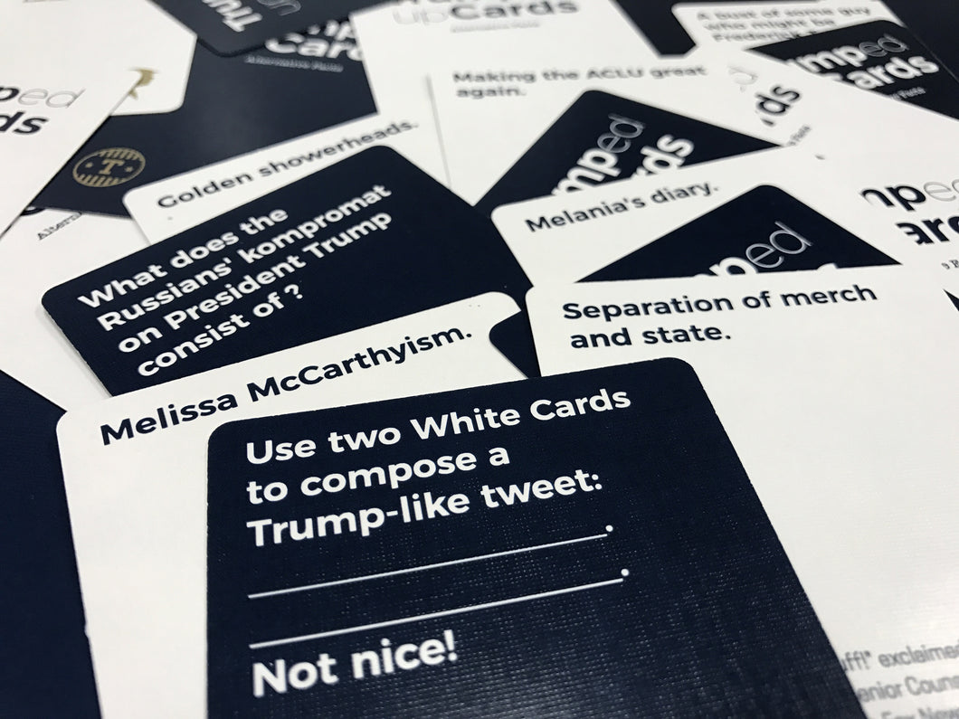 Alternative Facts: Expansion Pack #1 – Trumped Up Cards