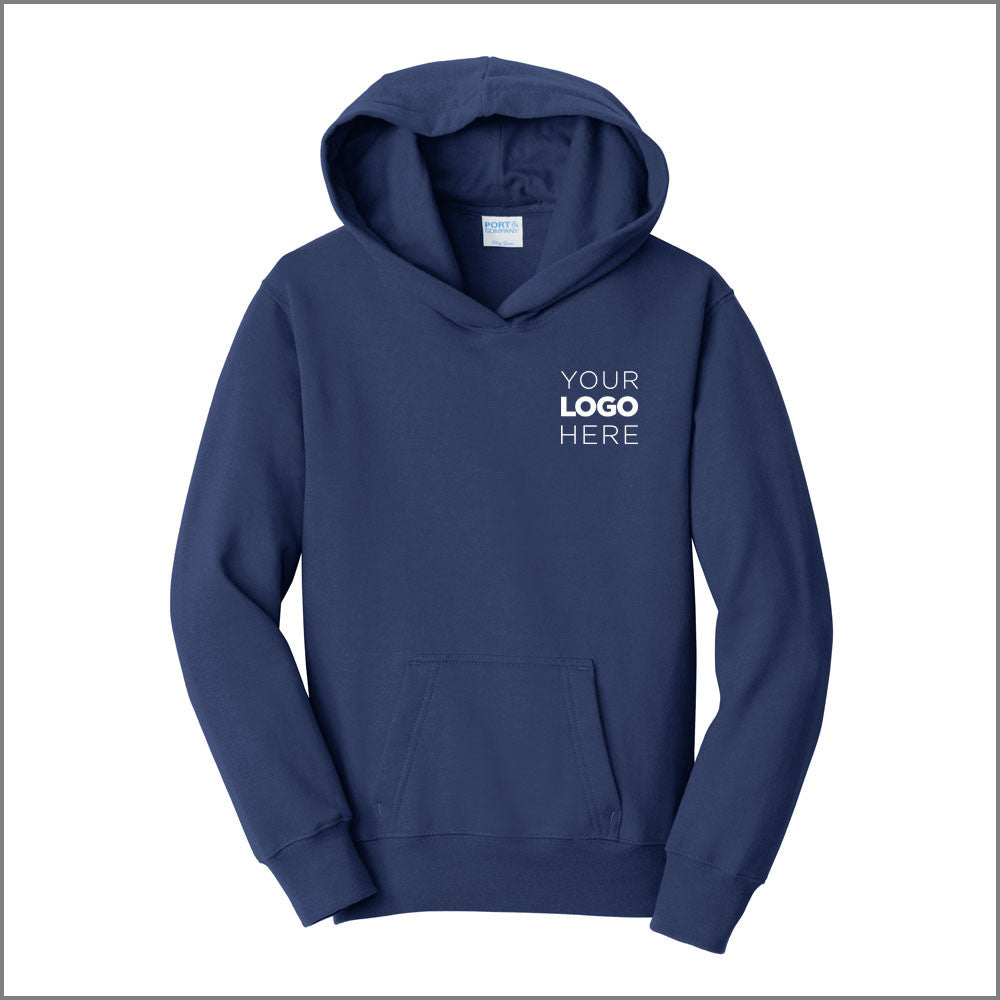 Youth Fleece Pullover Hooded Sweatshirt
