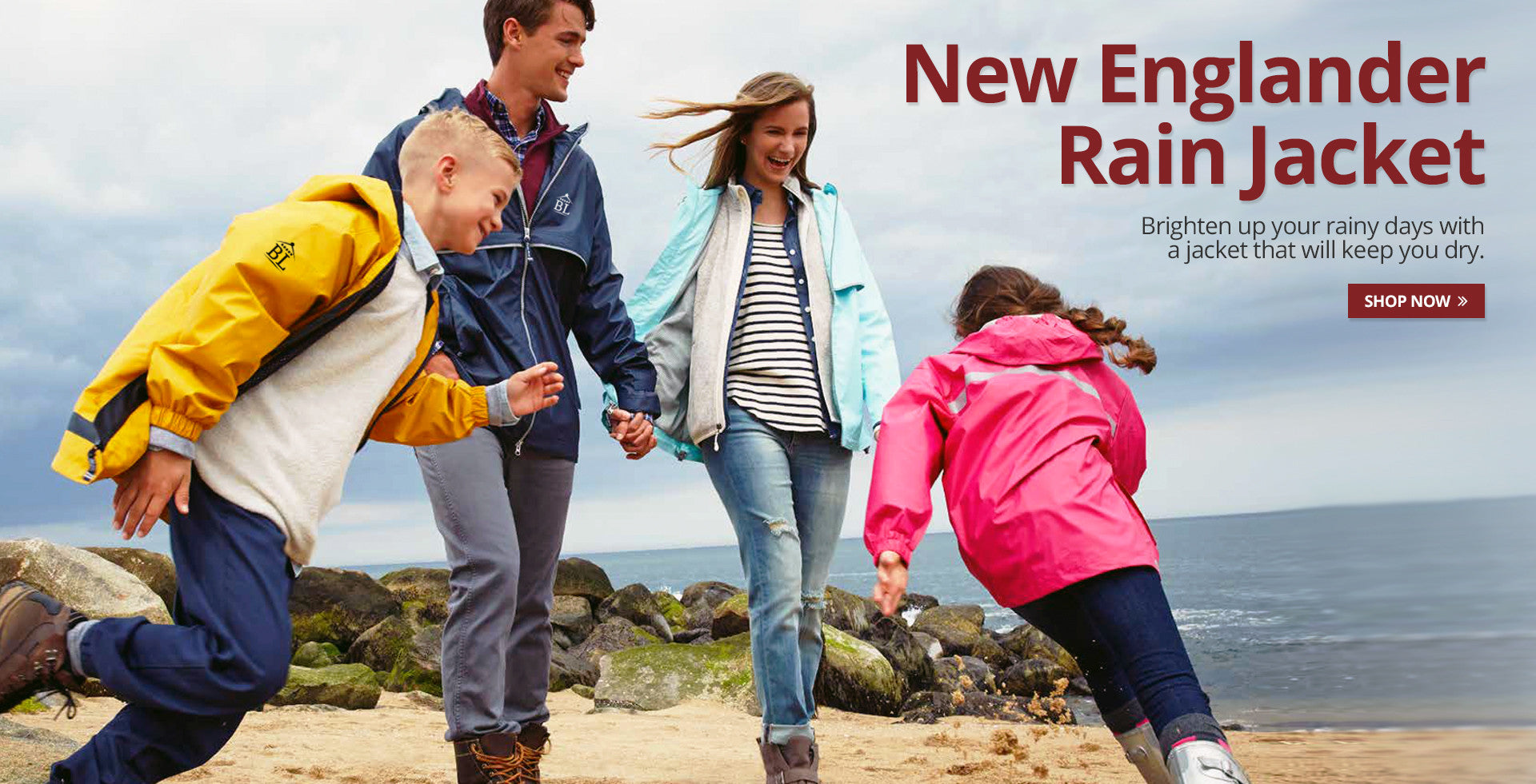 Barnlife New Englander Rain Jacket