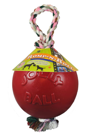 Size Small Medium Large Dog Romp-n-Roll Ball Play Toy 3 Colors & 3 Different Sizes
