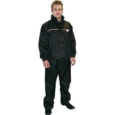 Rain Gear - DOWCO Motorcycle Rainsuit Black