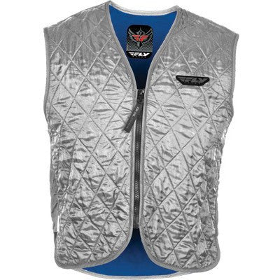FLY Street Motorcycle Cooling Vest Silver