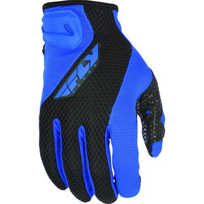 Street Gloves - FLY Street COOLPRO II Motorcycle Gloves Blue