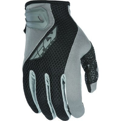 Street Gloves - FLY Street COOLPRO II Motorcycle Gloves Grey