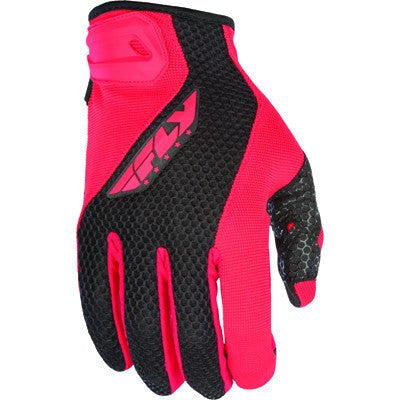 Street Gloves - FLY Street COOLPRO II Motorcycle Gloves Red