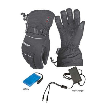 Street Gloves - FLY Street Ignitor 2 Heated Motorcycle Gloves