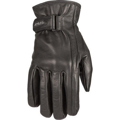 Street Gloves - FLY Street Ladies I-84 Motorcycle Leather Glove Black Leather