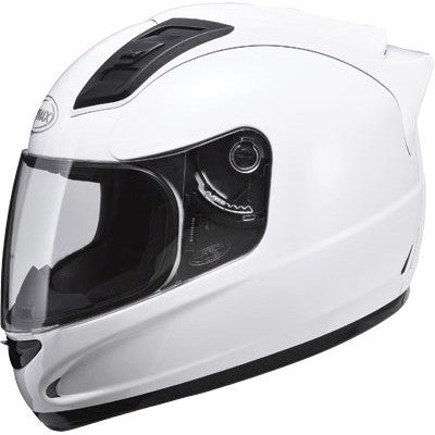 GMAX GM69 Full Face Motorcycle Helmet Pearl White