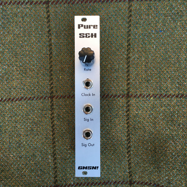 GMSN! Pure Sample and Hold Eurorack Module