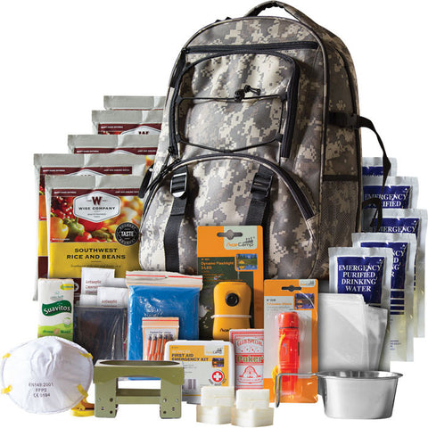 Wise Foods 5 Day Survival Backpack - Camo