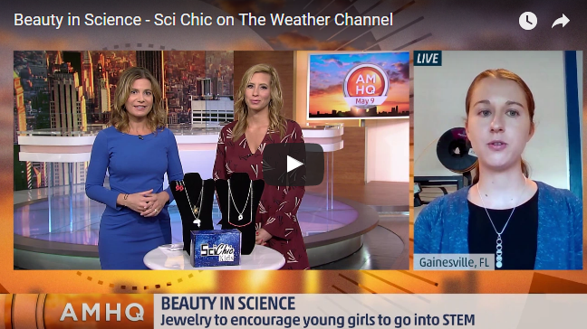 Sci Chic on America's Morning Headquarters!