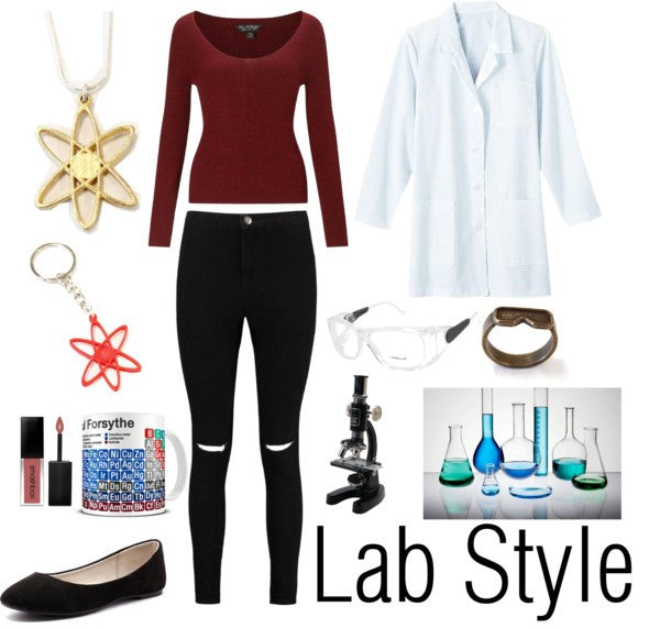 Science Outfit of the Day: Lab Style