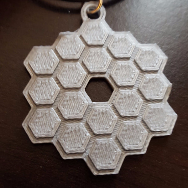 James Webb Space Telescope Necklace 3D Printed JWST Necklace NASA Necklace Science Jewelry Jewellry
