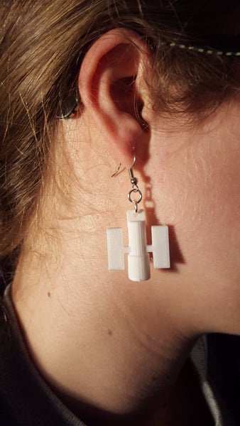 Hubble Telescope Earrings Hubble Jewelry 3D Printed Hubble Earrings Science Jewelry Space Jewelry Space Earrings 3D Printed Earrings