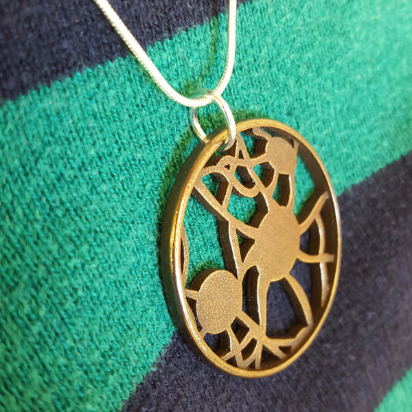 Neuron Circle Necklace