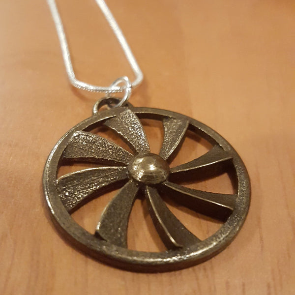 Turbine Powered Necklace
