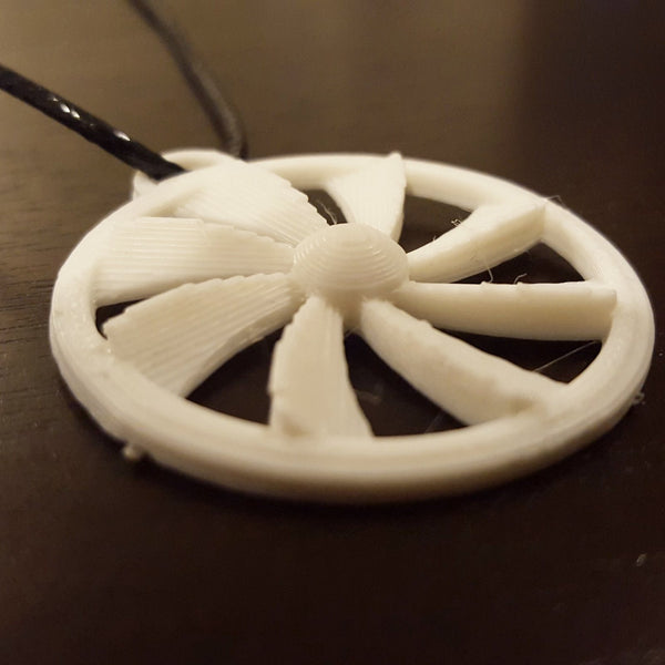 Turbine Power Necklace