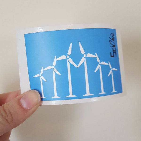Wind Power Sticker