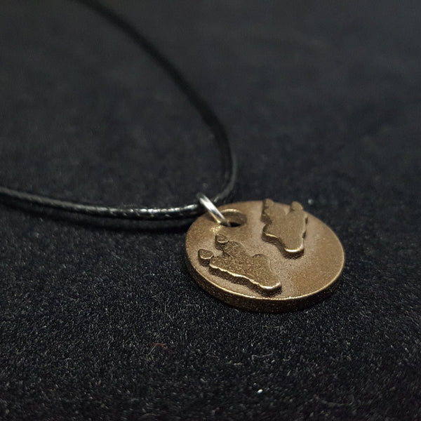 Dino Tracks Necklace