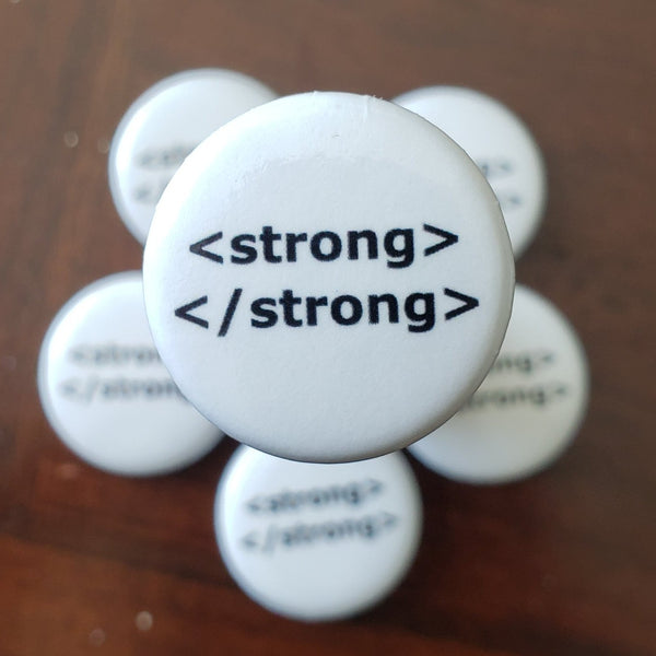 Strong Coding Pin