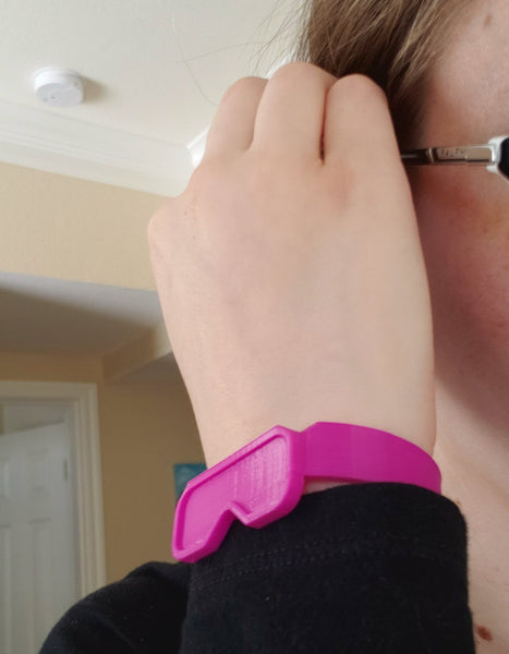 Safety Glasses Bracelet