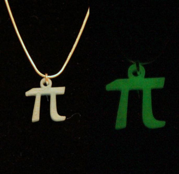 Pi Necklace Pi Jewelry Math Jewelry Math Necklace Pi Day Necklace Science Necklace Science Jewelry 3D Printed