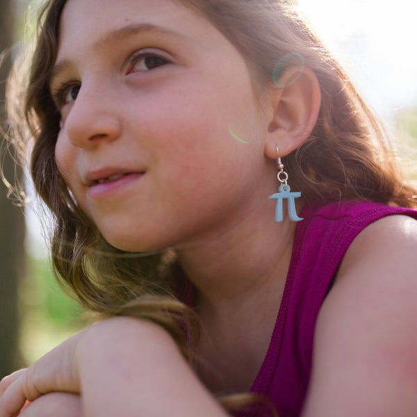 kid earrings pi jewelry pi day pi dress