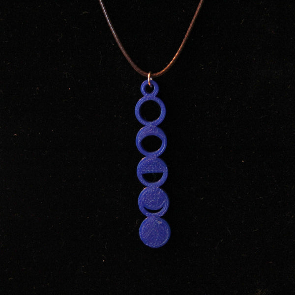 Moon Phase Necklace Space Jewelry Science Jewelry Astronomy Necklace Science Necklace Sci Chic